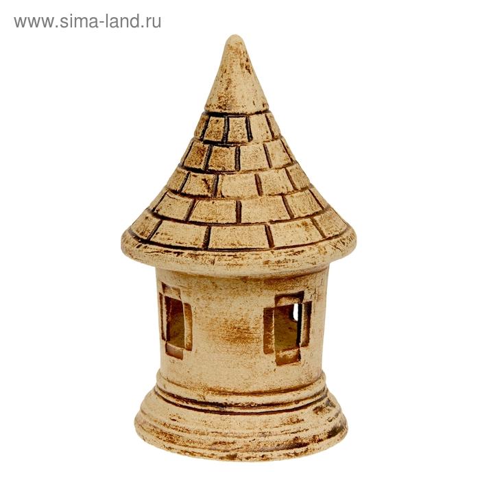 Садовый светильник ''Башня'' шамот