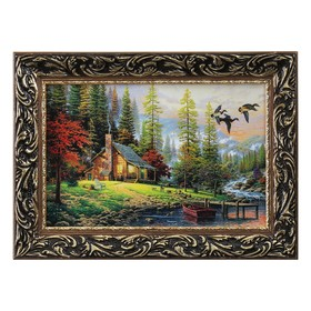 "Картина ""Охотничий домик"""