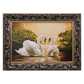 """Картина """"Пара лебедей"""""""