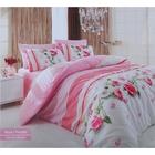 Постельное бельё COTTON LIFE Creton Rosa 2сп., размер 200х220 см, 220х240 см, 70х70 см-2 шт., плотность 115 гр/м2, цвет розовый