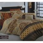 Постельное бельё COTTON LIFE Creton Night 2сп., размер 200х220 см, 220х240 см, 50х70 см-2 шт., плотность 115 гр/м2, цвет коричневый