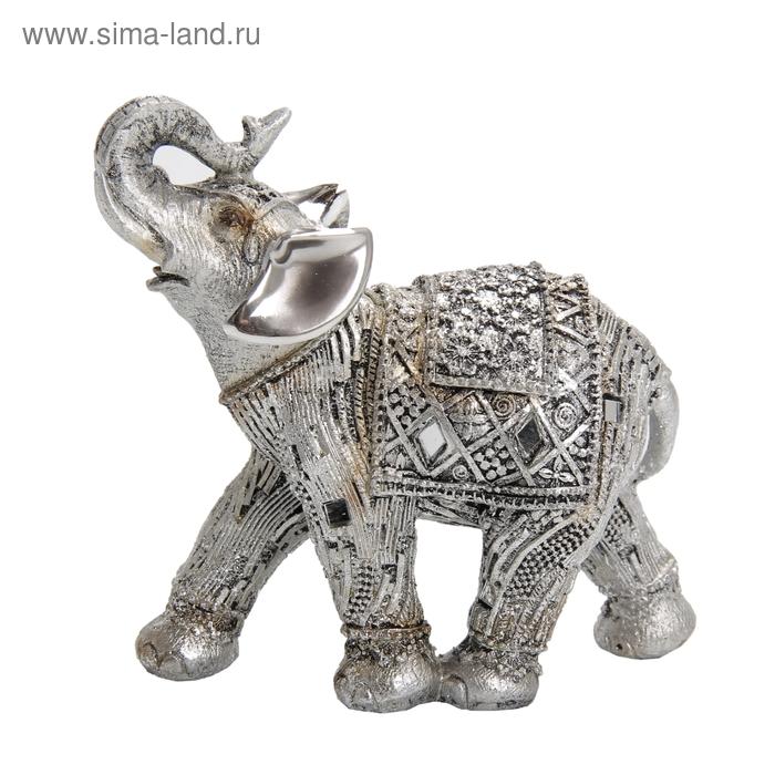 """Сувенир """"Слон серебряный"""""""