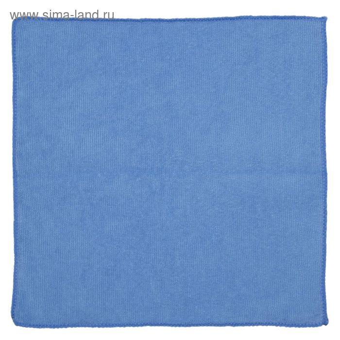Салфетка для уборки с сеткой-скрабером 30х30 см, цвет МИКС