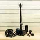 Фонтан для садового водоёма JTP-1800RF, 11 Вт, h=2.2 м, 1800 л/ч, шнур 10 м