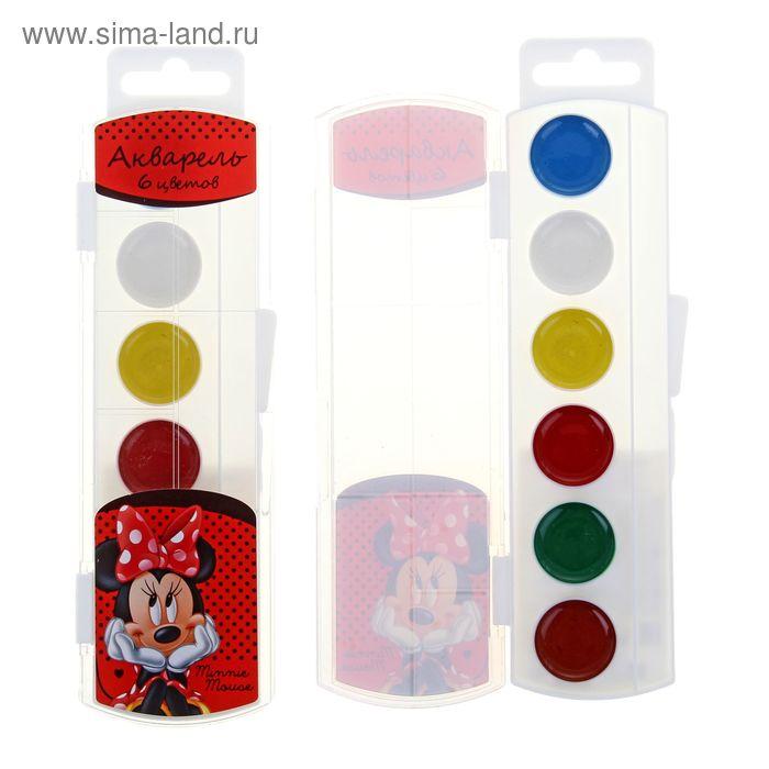 """Акварель 6 цветов Disney """"Минни"""""""