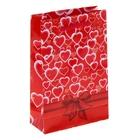 """Пакет подарочный """"Феерия сердец"""" 11,5х17,5х5 см"""