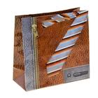 """Пакет подарочный """"Деловой стиль"""" 16х16х7,6 см"""