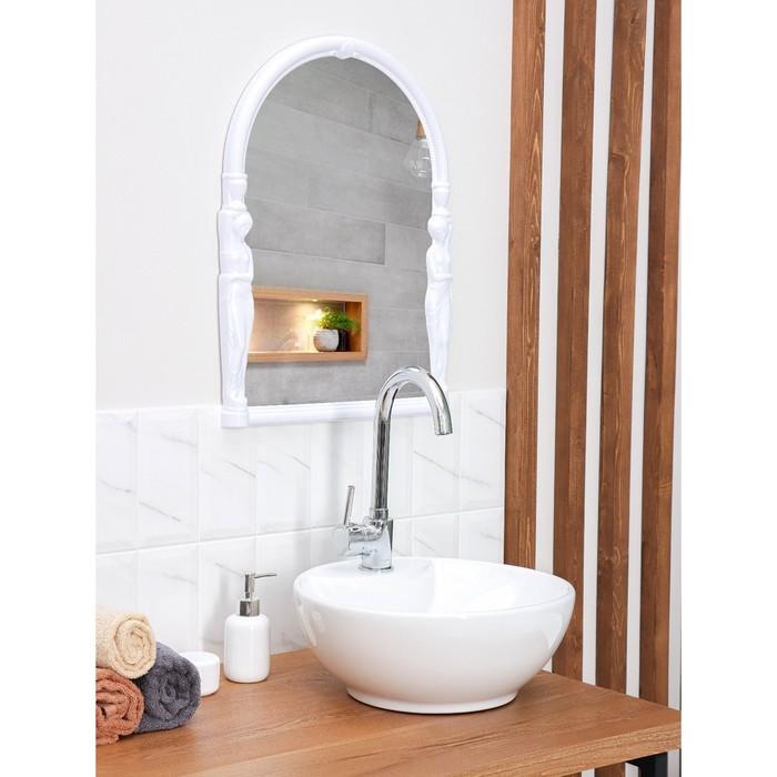 """Зеркало """"Вива Эллада"""", цвет снежно-белый"""