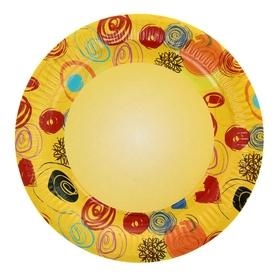 Тарелка с ламинацией 'Романтика', 23 см Ош