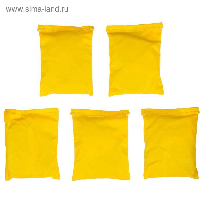 Мешочки для метания (набор 5 шт. по 500 гр), цвета МИКС