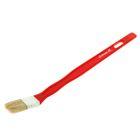 Кисть радиаторная Matrix, для эмалей, 25х10 мм, ручка пластик, натуральная щетина