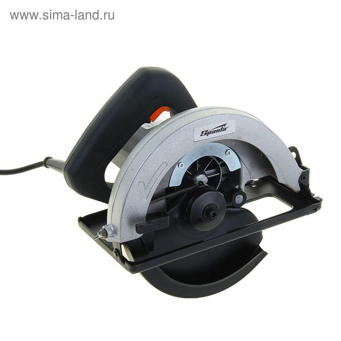 Пила циркулярная Sparta электрическая, 4800 об/мин, 185 мм, 1050 Вт