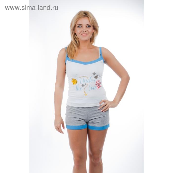 Комплект женский (топ, шорты) 14С262 П78  р-р 44