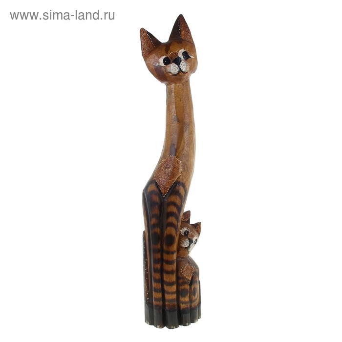 """Сувенир """"Кошка с котенком"""", 100 см"""