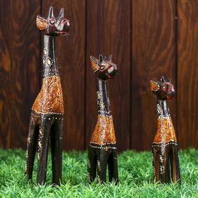 """Набор сувениров """"Жирафы"""", 3 шт"""
