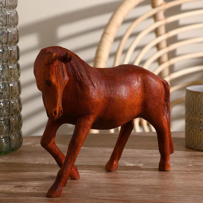 """Сувенир """"Лошадь"""" тёмная"""