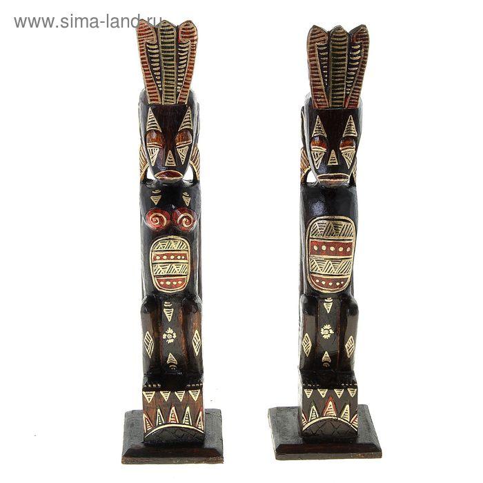 """Набор сувениров """"Два аборигена"""", 2 шт"""