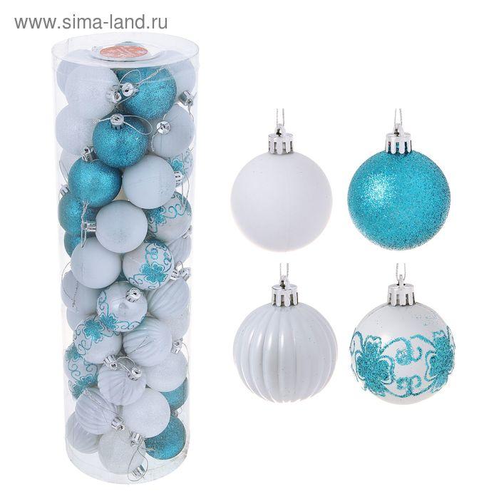 "Новогодние шары ""Хохлома"" (набор 50 шт.)"