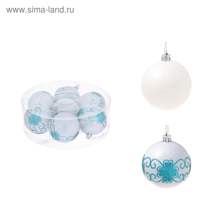 "Новогодние шары ""Хохлома"" (набор 7 шт.)"