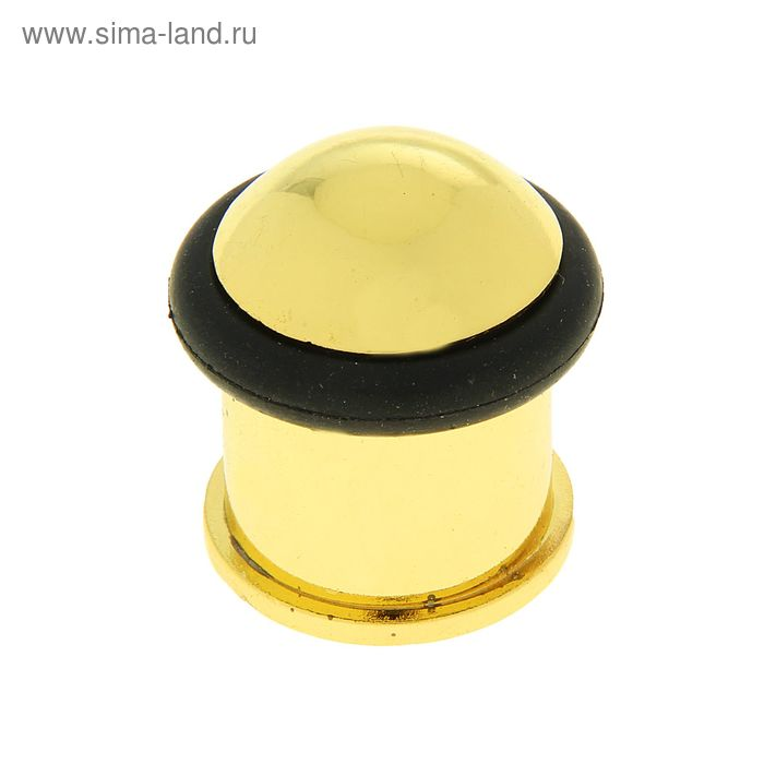 Упор дверной (мод.688-2), 35х25 мм, цвет золото