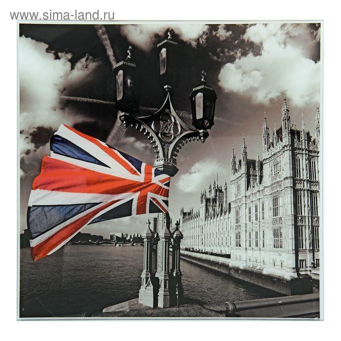 """Картина на стекле """"Лондон"""""""