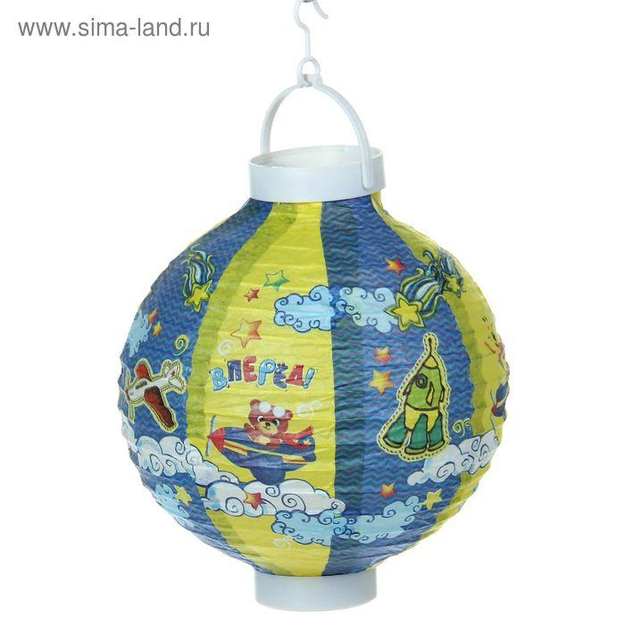 "Фонарик китайский декоративный ""Вперед"""