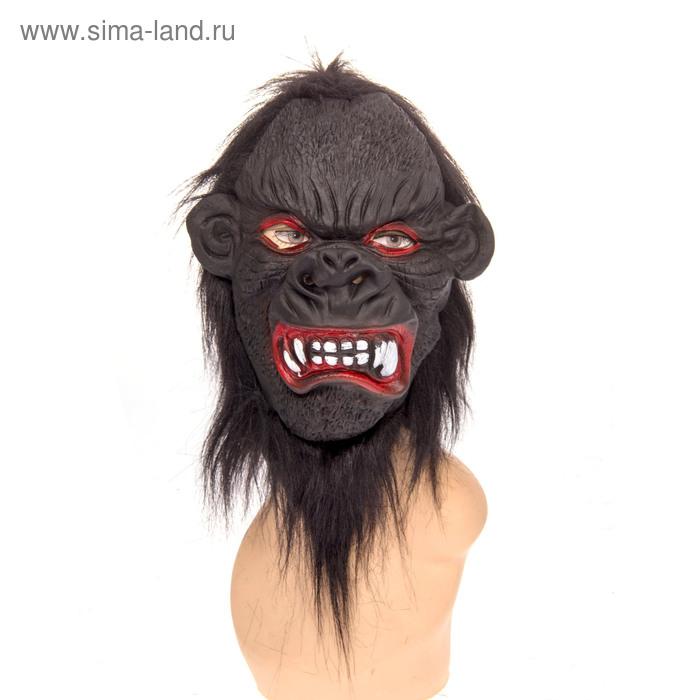 """Карнавальная маска """"Обезьяна"""" зубастая"""