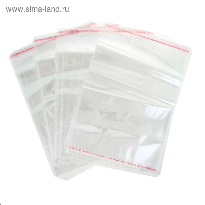 Пакет с липкой лентой 10 х 18/4 см