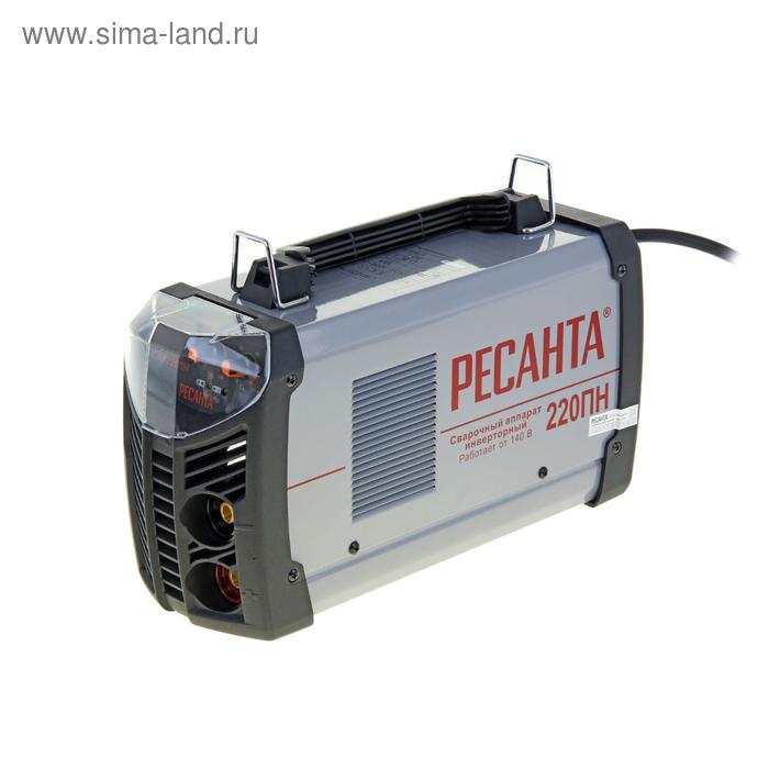 """Сварочный аппарат """"Ресанта"""" САИ 220 ПН, инверторный, 140-240 В"""