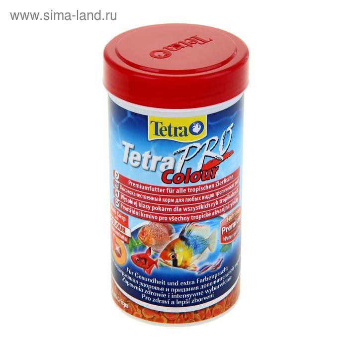 Корм для рыб TetraPro Colour, 250 мл