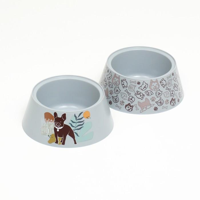 "Миска ""Dogs"" 0,7 л"