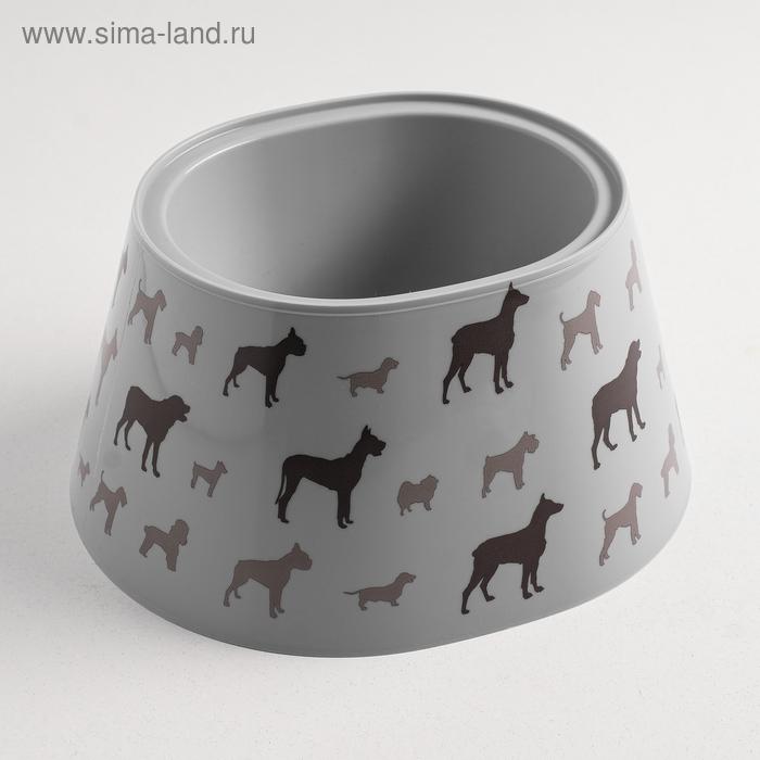 "Миска ""Dogs"" 0,65 л"