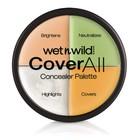 Набор консилеров Wet n Wild Coverall Concealer Palette E61462, 4 тона