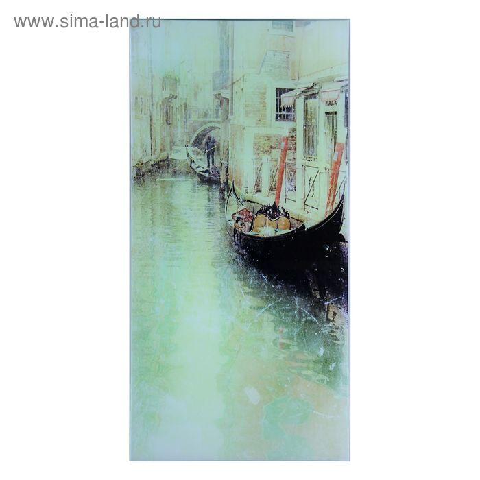 """Картина на стекле """"Улица в Венеции"""""""