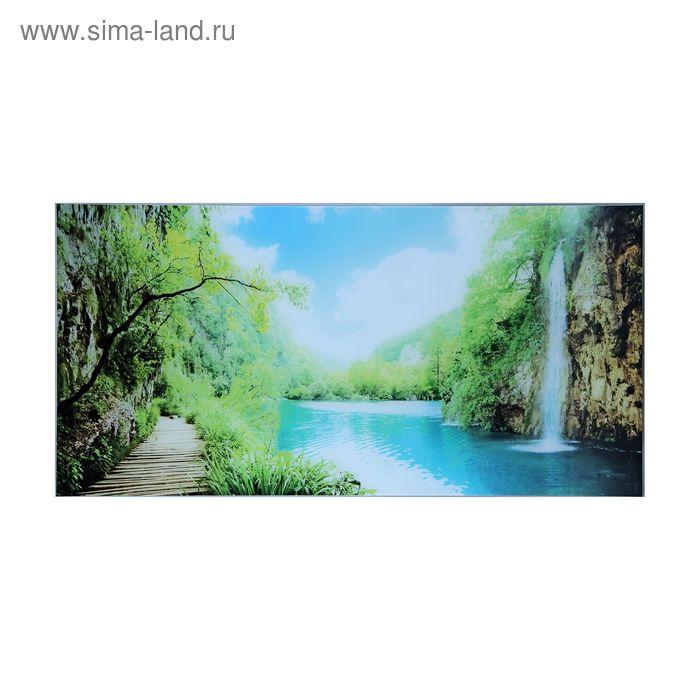 """Картина на стекле """"Водопад"""""""