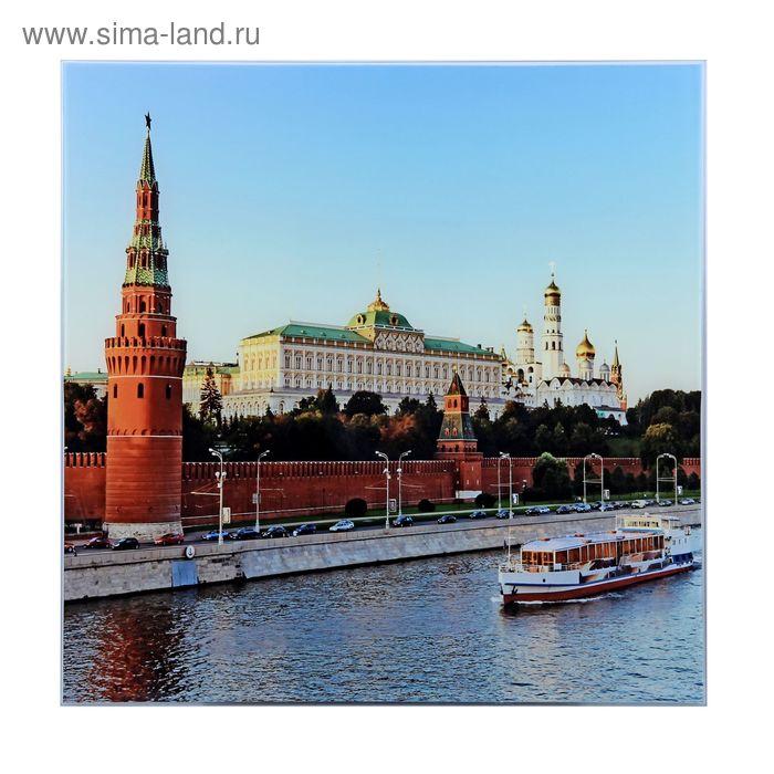 """Картина на стекле """"Москва"""""""