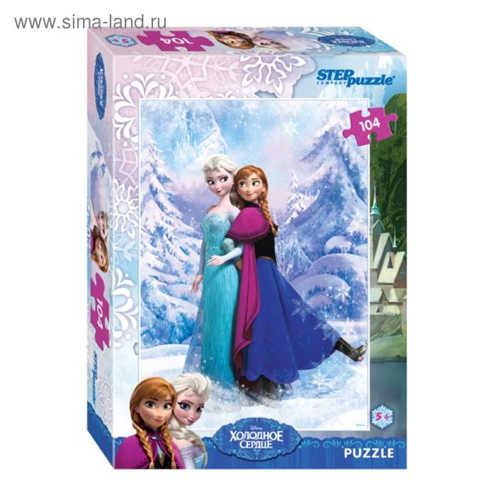 """Пазлы Disney """"Холодное сердце"""", 104 элемента"""