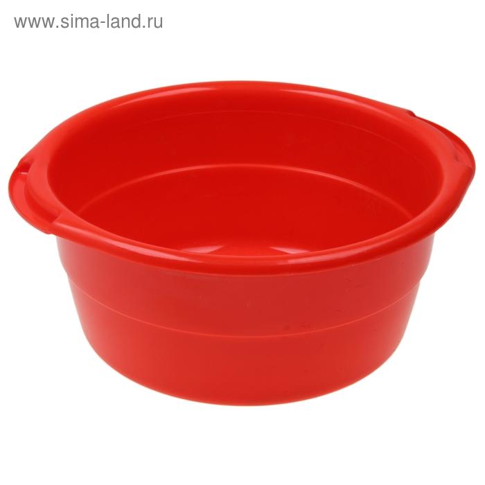 """Таз 8 л """"Особо прочный"""", цвет красный"""