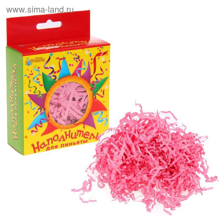 Наполнитель для пиньят, цвет розовый