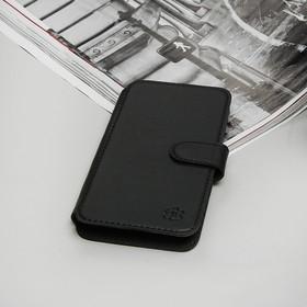 """Чехол-книжка """"Norton"""" для телефона, 4,9""""-5,2"""", на клейкой основе, цвет чёрный"""