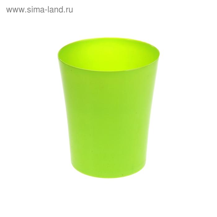 Ведро для мусора 15*15*17 см, зеленое