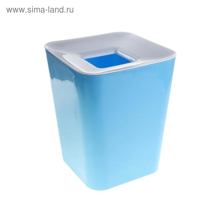 Ведро для мусора, цвет синий