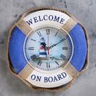"""Часы настенные """"Добро пожаловать на борт. Маяк"""""""