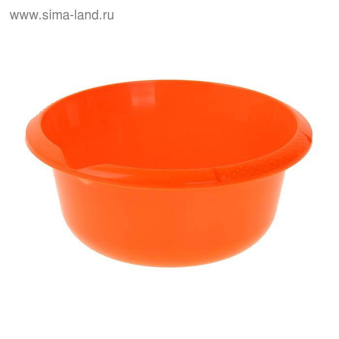 Миска 2,5 л, цвет мандарин