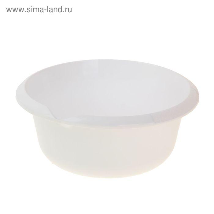 Миска 2,5 л, цвет снежно-белый