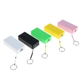 Внешний аккумулятор LuazON, Power bank, 1 USB, 3200 мAч, микс