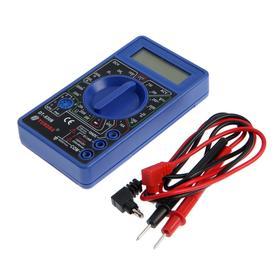 Мультиметр TUNDRA basic, цифровой DT-830B (без батарейки)