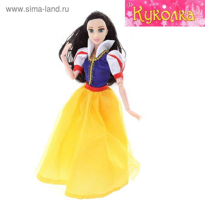 """Кукла шарнирная """"Сказочная принцесса"""", МИКС"""