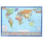 Политическая карта мира. Гербы и флаги (М 1:58 млн.). Настольная карта
