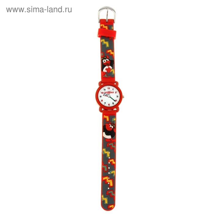 """Часы наручные """"Радуга"""", детские кварцевые, красные"""